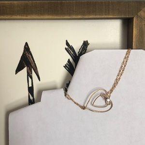 Jewelry - Gold Heart Bracelet